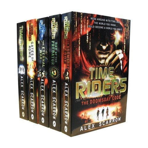 9783200303676: TimeRiders Collection Alex Scarrow 5 Books Set Pack (Time Riders, Gates of Ro...