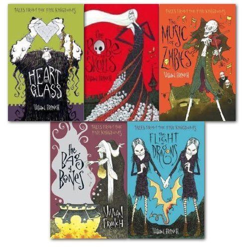 9783200303713: Vivian French Tales from the Five Kingdoms Collection 5 Books Set, (The Robe ...