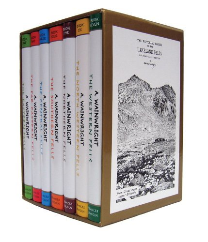 9783200306905: Pictorial Guide To the Lakeland Fells Collection 7 Books Set By Alfred Wainwright (50th Anniversary Edition)