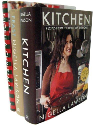 9783200307087: Nigella Lawson 3 Book Set (Nigella's Kitchen, Nigella's Feast, Nigella's Christmas)
