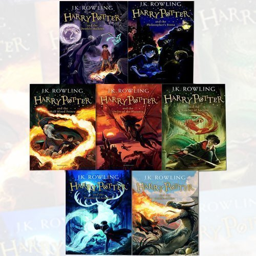 J.K. Rowling Harry Potter Collection 7 Books Bundle