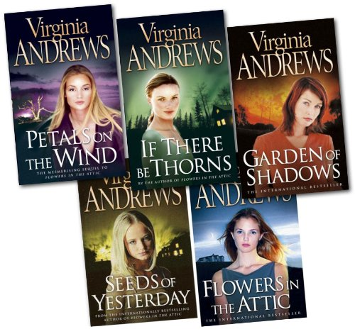 9783200328815: Virginia Andrews Collection 5 Books Set New RRP 27.96 (Petals on the wind, ...