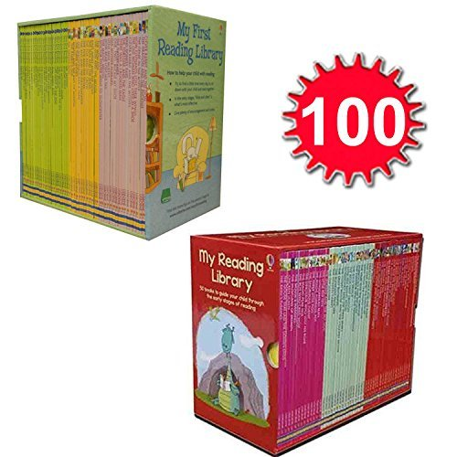 9783200328976: Usborne Very First Reading Library 100 Books Set Collection Complete School Pack