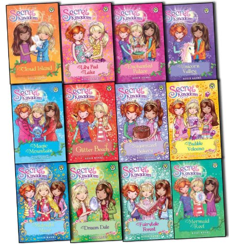 9783200329010: Secret Kingdom Series Collection 1 to 12 Books Set By Rosie Banks,