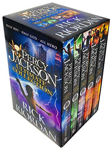 9783200329072: Percy Jackson Rick Riordan 5 Books Collection Pack Set(Percy Jackson and the Lightning Thief,Percy Jackson and the Battle of the Labyrinth,Percy Jackson and the Titan's Curse,Percy Jackson and the Sea of Monsters, Percy Jackson and the Last Olympian)