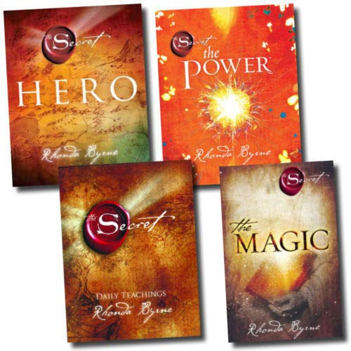 9783200329102: Rhonda Byrne The Secret Series 4 Books Collection Set Pack, Hero The Secret, The Power and[PaperBack] The Magic