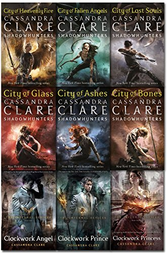 9783200330078: Cassandra Clare Mortal Instruments & Infernal Devices Collection 9 Books Set Pack