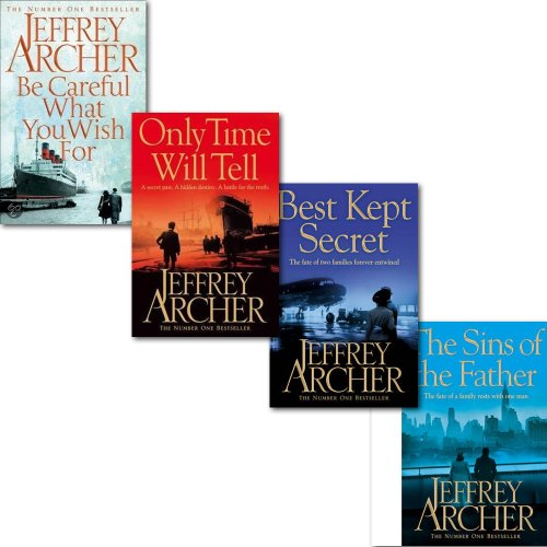 9783200330153: Jeffrey Archer The Clifton Chronicles Series Collection 4 Books Set,(Best Kept Secret: Book Three of the Clifton Chronicles, The Sins of the Father, & [Hardcover] Be Careful What You Wish For)