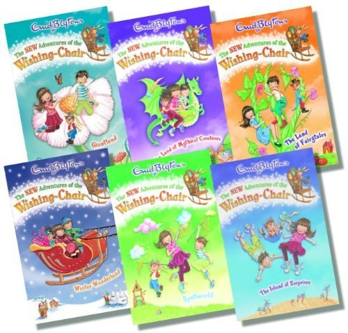 9783200330481: The New Adventures of the Wishing Chair Collection, 6 books, RRP 29.94 (The ...