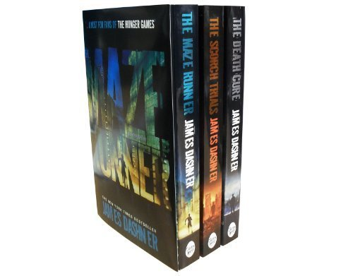9783200330498: The Maze Runner 3 Books Series Collection Pack Set