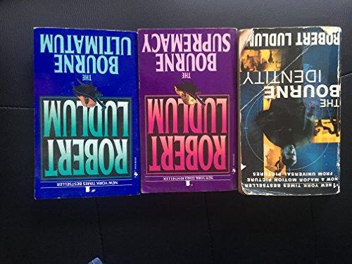 9783200330689: Robert Ludlum The Bourne Trilogy 3 Books Pack Set