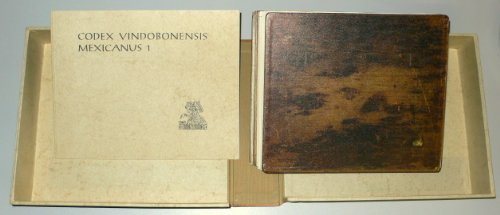 9783201008877: CODEX VINDOBONENSIS MEXICANUS 1. Vollständige (Vollstandige) Faksimile-Ausgabe im Originalformat. Codices Selecti Phototypice Impressi, Volumen V. Two Volumes.