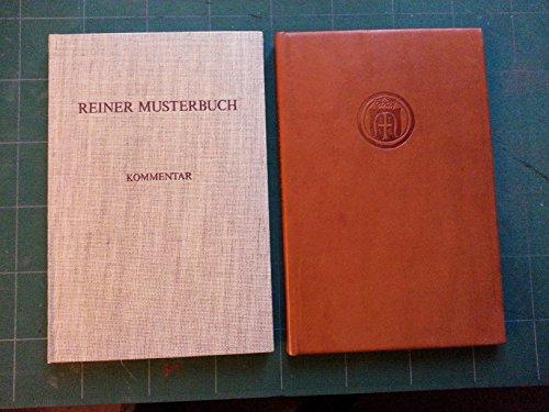 9783201010887: Reiner Musterbuch: Faksimile Ausgabe Im Originalformat