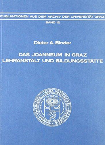 Das Joanneum in Graz: Dieter Binder
