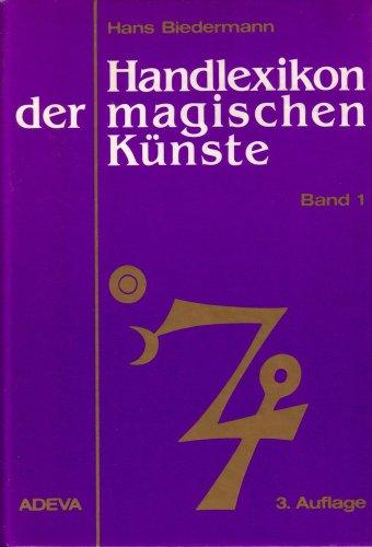 9783201013031: Handlexikon der magischen Kunste von der Spatantike bis zum 19. Jahrhundert (German Edition)
