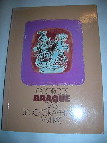 Georges Braque, das druckgraphische Werk (Wiener Akademie-Reihe): Braque, Georges