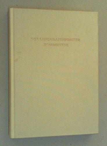 9783201015585: Der Landgrafenpsalter: Vollständige Faksimile-Ausgabe im Originalformat der Handschrift HB II 24 der Württembergischen Landesbibliothek Stuttgart (Codices selecti)