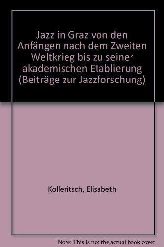 Jazz in Graz: Elisabeth Kolleritsch