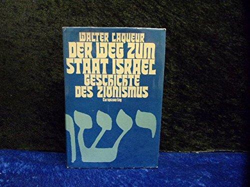 9783203505602: Der Weg zum Staat Israel. Geschichte des Zionismus