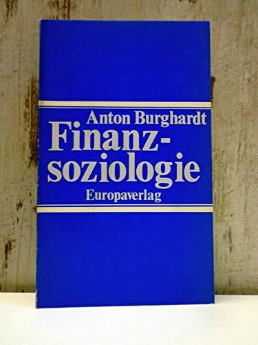 9783203506906: Finanzsoziologie (German Edition)
