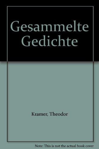 Theodor Kramer Gesammelte Gedichte, Drei Banden (3: Theodor Kramer. Erwin
