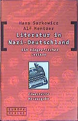 9783203820309: Literatur in Nazi-Deutschland.