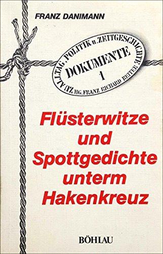 9783205070900: Flüsterwitze und Spottgedichte unterm Hakenkreuz