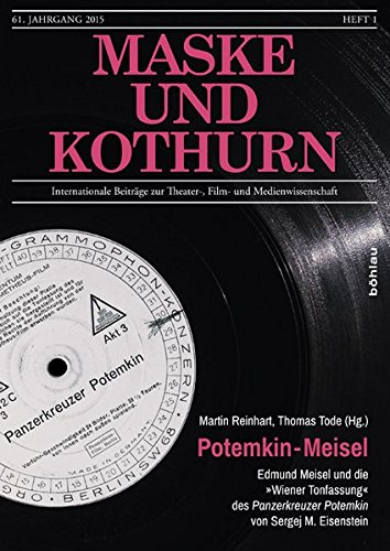 9783205200734: Potemkin - Meisel: Edmund Meisel und die
