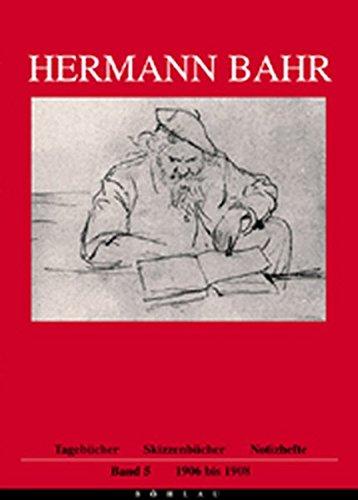 9783205770237: Tagebücher, Skizzenbücher, Notizhefte. Band 5 1906-1908