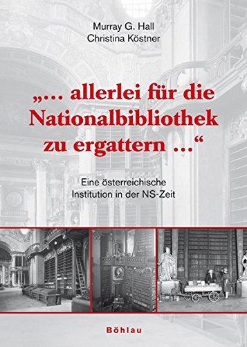 Allerlei für die Nationalbibliothek zu ergattern .: Murray G Hall