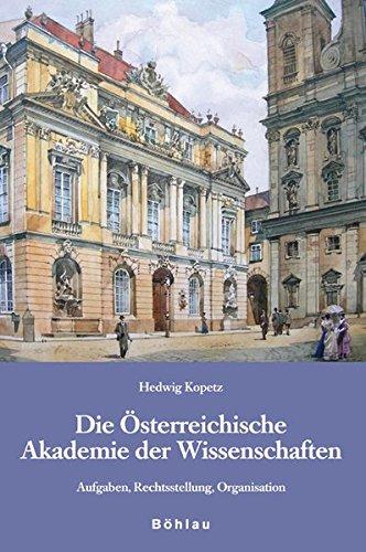 9783205775348: Kopetz, H: Österreichische Akademie der Wissenschaften (Studien Zu Politik Und Verwaltung)