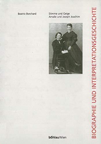 9783205776291: Stimme und Geige. Amalie und Joseph Joachim, m. CD-ROM