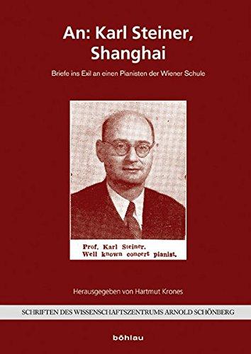 An: Karl Steiner, Shanghai: Hartmut Krones