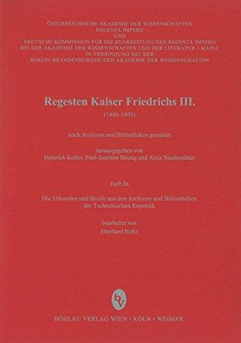Die Urkunden und Briefe aus den Archiven und Bibliotheken der Tschechischen Republik: Eberhard ...