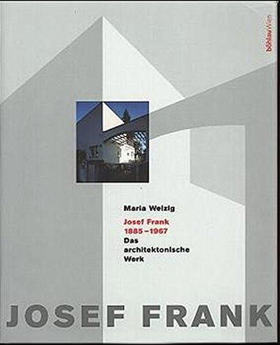 9783205984078: Josef Frank (1885-1967): Das architektonische Werk (German Edition)