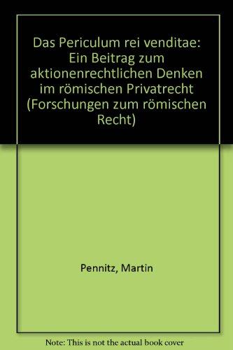 Das periculum rei venditae: Martin Pennitz