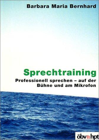 9783209039750: Sprechtraining. Buch und CD.