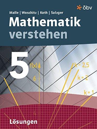 9783209070395: Malle Mathematik verstehen 5, Lösungen