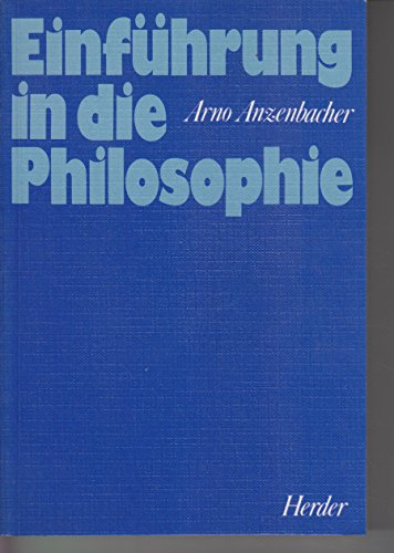 9783210246277: Einfuhrung in die Philosophie (German Edition)