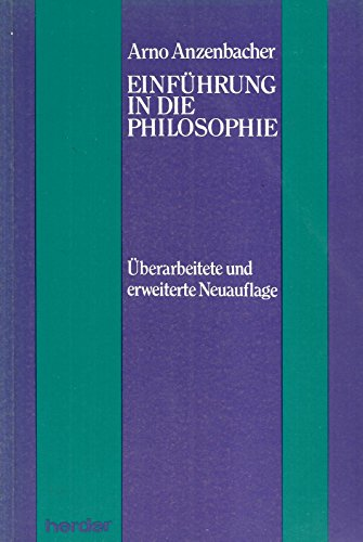 9783210251493: Einfuhrung in die Philosophie (German Edition)