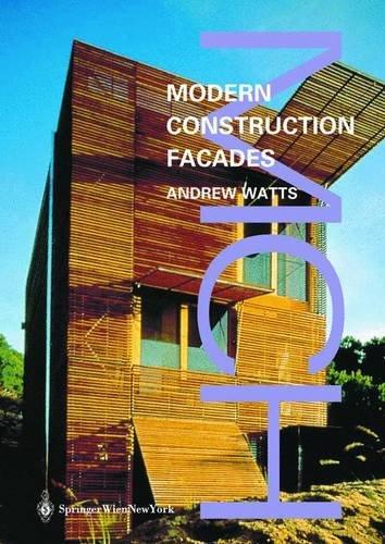 9783211006382: Modern Constuction: Facades (Modern Construction Series)