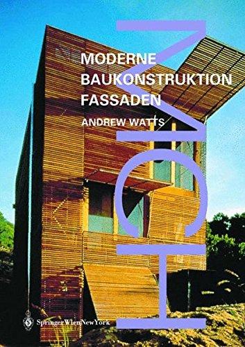 Moderne Baukonstruktionen Fassaden: Andrew Watts