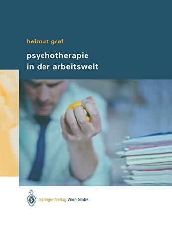 9783211008249: Psychotherapie in der Arbeitswelt