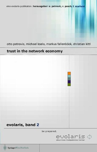 9783211068533: Trust in the Network Economy (Evolaris) (v. 2) (English and German Edition)