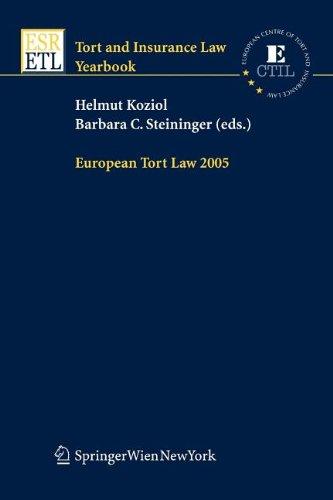 9783211100394: European Tort Law 2005