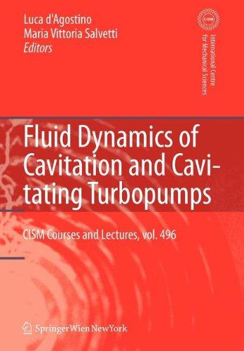 9783211100868: Fluid Dynamics of Cavitation and Cavitating Turbopumps