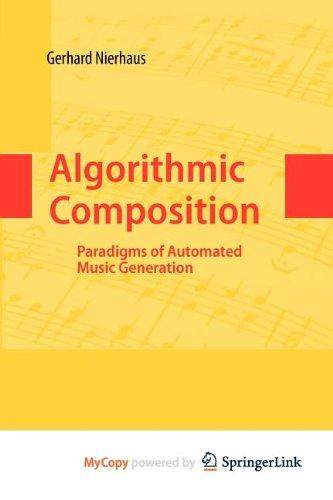 9783211101797: Algorithmic Composition