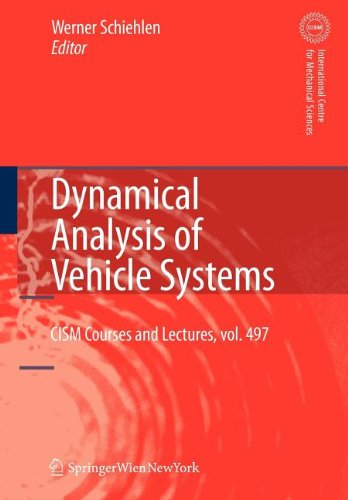 9783211101858: Dynamical Analysis of Vehicle Systems