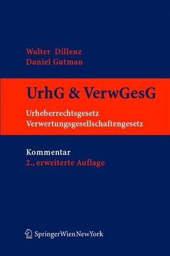 9783211207963: Praxiskommentar zum Urheberrecht: Österreichisches Urheberrechtgesetz und Verwertungsgesellschaftengesetz: Osterreichisches Urheberrechtsgesetz Und Verwertungsgesellschaftengesetz