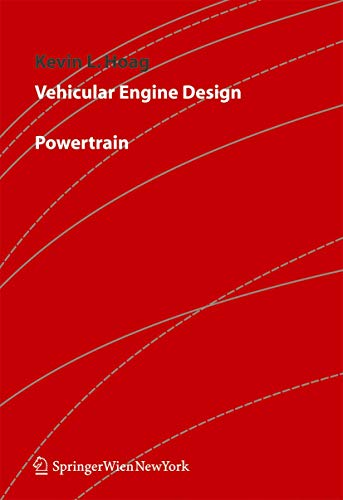 9783211211304: Vehicular Engine Design
